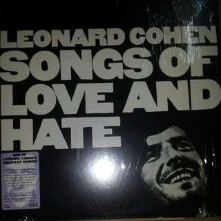 Vinyl Record / LP: Leonard Cohen–Songs Of Love And Hate - 2009 U.S. Sundazed Music Pressing