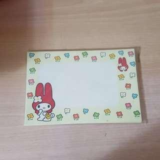 Melody信紙信封