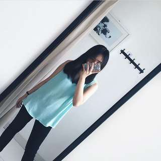 Zara mint top