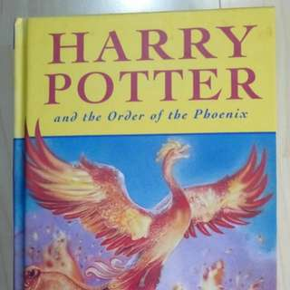 Harry Potter and the Order of Phoenix 哈利波特第五集小說