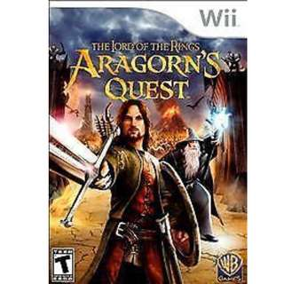 Lord of the Rings: Aragorn''s Quest WII New Nintendo Wii