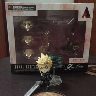 Square Enix Final Fantasy: Trading Arts Kai: Cloud Mini Figure