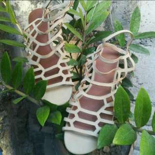 REPRICED Brash Gladiator Flats Sandals (from Payless)