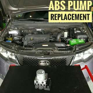 KIA Forte : ABS_Pump Replacement