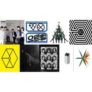 EXO Album List