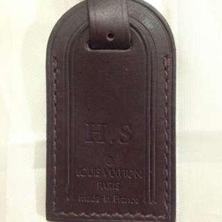 Luggage bag tag Louis Vuitton
