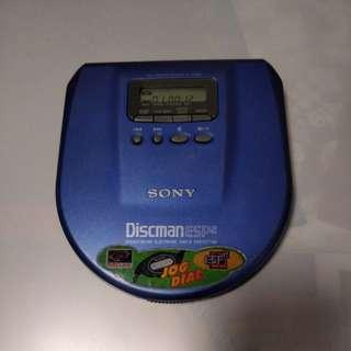 SONY D-E554 CD 有光纖輸出播放機