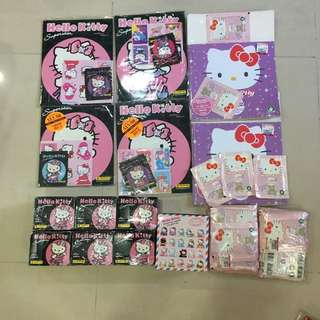 New Unopened Sanrio Hello Kitty Superstars Pearl Card Pearlcard Greeting Cards Collection Bundle