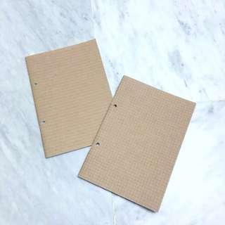 muji notebook A5 grid line