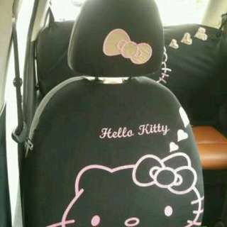Sarung Jok Mobil Hello Kitty