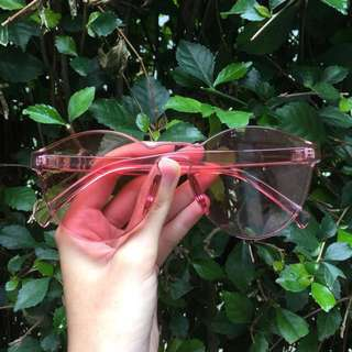 Jelly sunglasses sweet pink