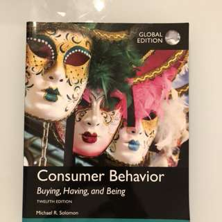 Consumer behavior textbook global edition