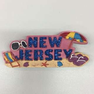 New Jersey Ref Fridge Magnet