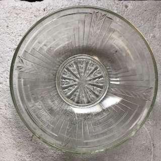 🚚 早期玻璃碗 - 有古早懷舊感