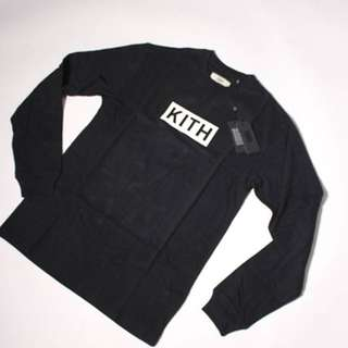 (代購) KITH LONG SLEEVE BOX LOGO