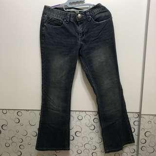 皇冠牛仔長褲👖-7