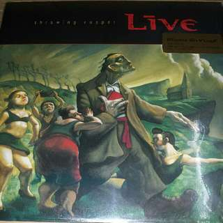 Vinyl Record / LP: Live ‎– Throwing Copper - 2012 Music On Vinyl Pressing