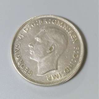 1943年 澳洲 弗羅林銀幣