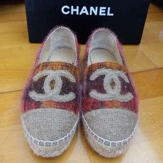 Chanel espadrilles 草底鞋