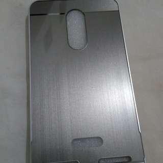 Case Metal Silver Lenovo K6 Power