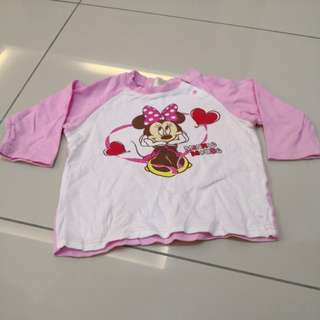 Disney Girl's Shirt (3-4y)