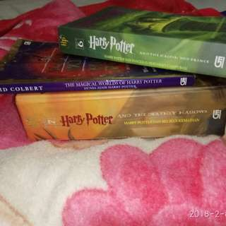 Novel Harry Potter (Bundle)