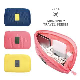 Dompet Shockproof Monopoly Travel Pouch Organizer