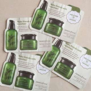 Innisfree greentea serem abd cream