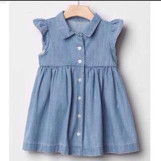 100% Authentic GAP Baby Girl Dress