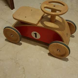 Wooden toy car for sale
