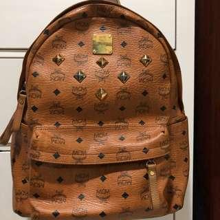 AUTHENTIC MCM Bagback Medium