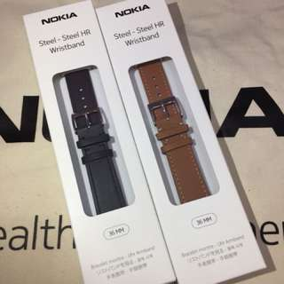 Nokia Wristband 牛皮 錶帶 (36mm)