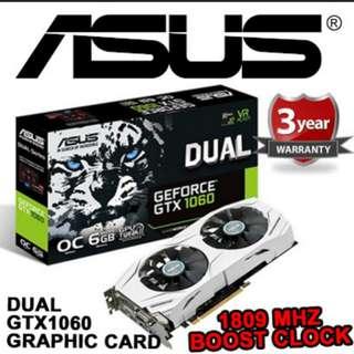 Gtx 1060 6GB Asus dual