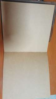Leather Craft Paper Notebook