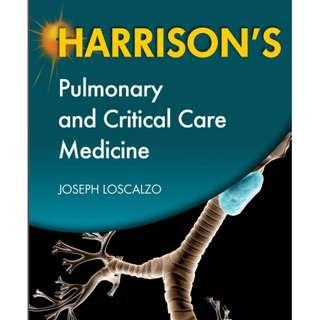 Ebook Kedokteran Harrisons Pulmonary and Critical Care Medicine