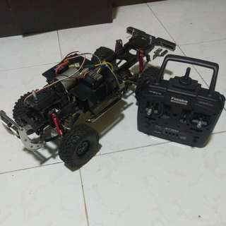 Tamiya Hilux/F350 high lift ARTR chassis only