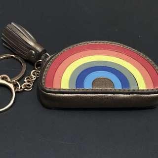 Rainbow Bag Charm/Coin Purse/Key Holder
