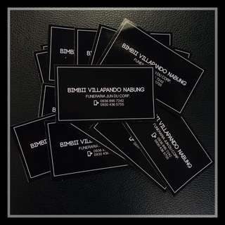 Rush Business Card Calling Card Printing