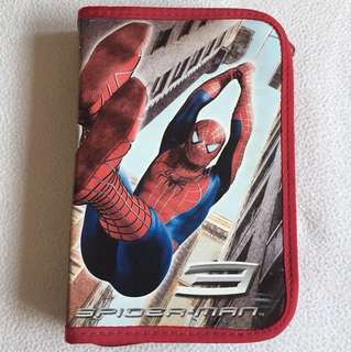 Spider-Man Stationary Zip Pouch in good condition