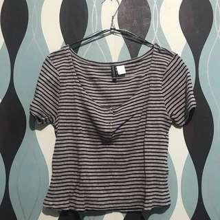 Stripe Top by H&M