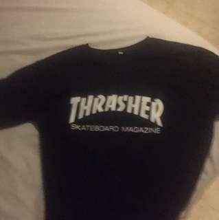 Thrasher tee skateboard magazine Shirt