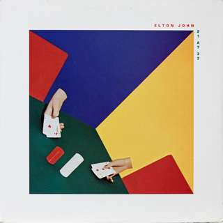 Elton John Vinyl LP, used, 12-inch original pressing