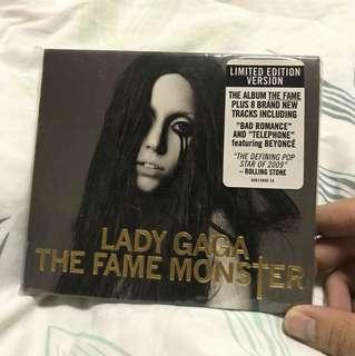 Lady Gaga The Fame Monster Limited Edition Gold Digipak (USA)