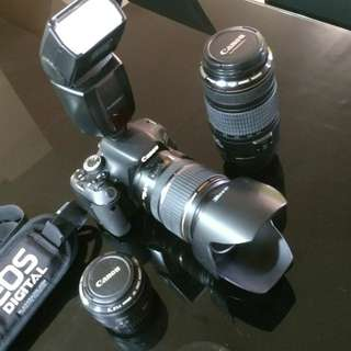 Canon Camera and Lens Package