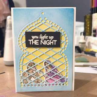 Mini handmade card