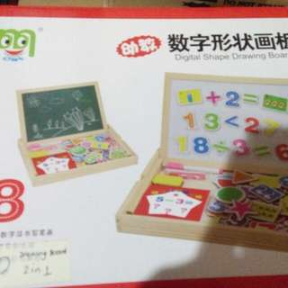 Drawing Board 2in1 with Free Magnets