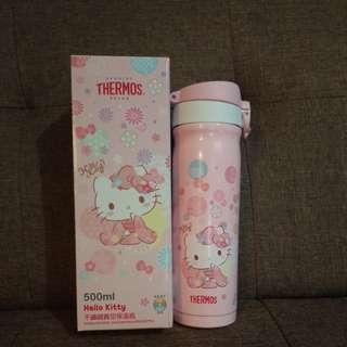 Hello Kitty × Thermos 不銹鋼真空保溫瓶
