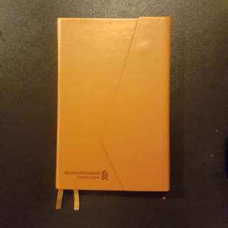 Standard Chartered Private Bank Notebook / Diary (Leather)