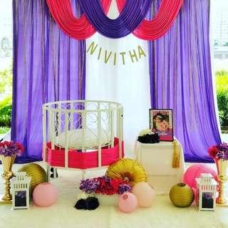 Baby Naming Ceremony Decor