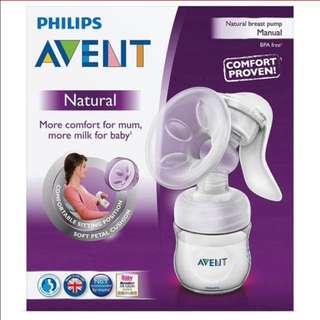 Philips Avent Natural Manual Breastfeeding Pump
